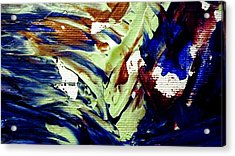 Wise Owl Gliding Acrylic Print by Sheila Van Houten