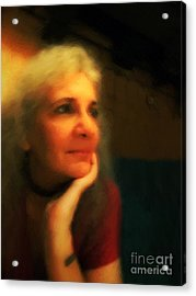 Wistful Acrylic Print by RC DeWinter