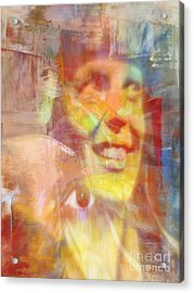 With Amelia's Shadow Acrylic Print by Fania Simon