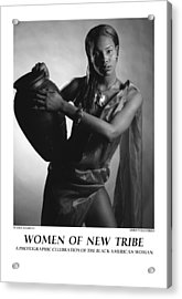 Women Of A New Tribe - Water Maiden I Acrylic Print by Jerry Taliaferro