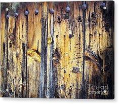 Wood Acrylic Print by Eena Bo