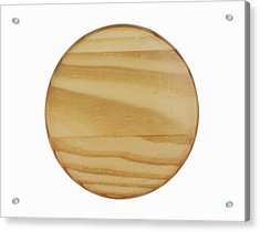 Wood Sign Acrylic Print by Blink Images