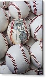 World Baseball Acrylic Print by Garry Gay