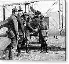 World War I, Captain Strus Second Acrylic Print by Everett