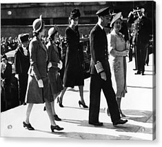 World War II. From Left Future British Acrylic Print by Everett