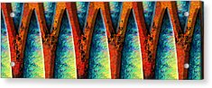 World Wide Web Acrylic Print by Paul Wear