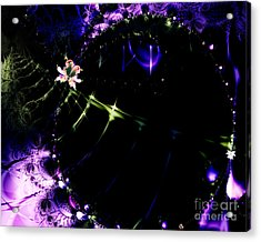 Wormhole Beyond . S4a.s10 Acrylic Print by Wingsdomain Art and Photography