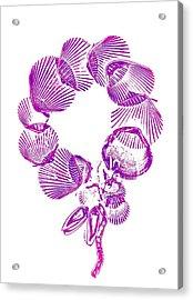 Wreath Acrylic Print by Sara Koenig King