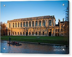 Wrens Library Acrylic Print by Andrew  Michael