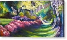 Wysteria Lane Acrylic Print by James Christopher Hill