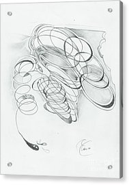 X 4 07 Acrylic Print by Xole