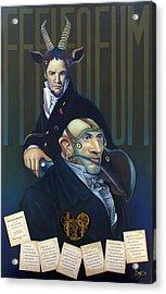 Yak Andrew Bienstjalk Acrylic Print by Patrick Anthony Pierson