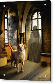 You Are Always Safe With Me Acrylic Print by Suni Roveto