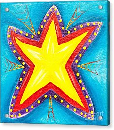 Your A Star Acrylic Print by Melle Varoy