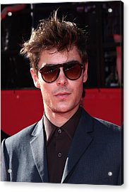 Zac Efron In Attendance For Espns 18th Acrylic Print by Everett