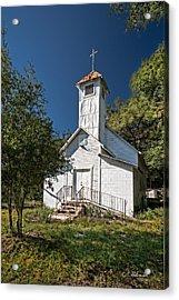 Zion Baptist Church Acrylic Print by Christopher Holmes