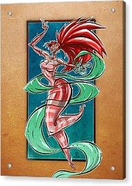 Zola Acrylic Print by Jayson Green