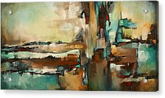 ' The Border ' Acrylic Print by Michael Lang