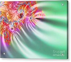 Aurora Color Dreams Acrylic Print by Stefano Senise