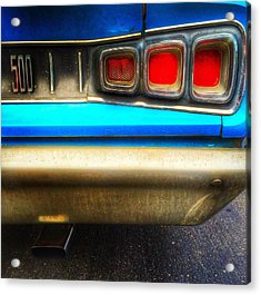 Coronet 500 Rear Acrylic Print by Jame Hayes