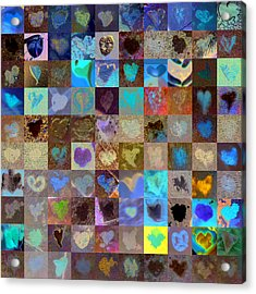 Eight Hundred Series Acrylic Print by Boy Sees Hearts
