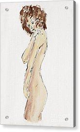 Flirtatious Acrylic Print by Michal Boubin