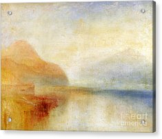 Inverary Pier - Loch Fyne - Morning Acrylic Print by Joseph Mallord William Turner