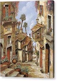 Le Palme Sul Tetto Acrylic Print by Guido Borelli