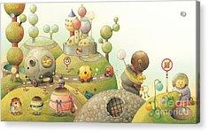 Lisas Journey06 Acrylic Print by Kestutis Kasparavicius