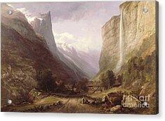 Swiss Scene Acrylic Print by Samuel Jackson