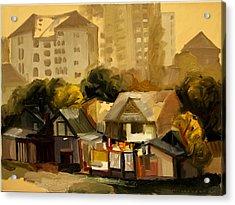 Urban Landscape Acrylic Print by Ion Mihalache