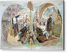 Business Cartoon, 1904 Acrylic Print by Granger