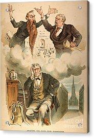 Cartoon: Panic Of 1893 Acrylic Print by Granger