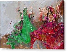 003 Pakhtun B Acrylic Print by Maryam Mughal