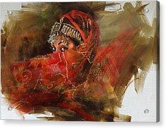 002 Pakhtun B Acrylic Print by Mahnoor Shah