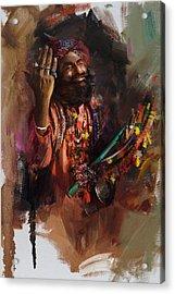 004 Sindh Acrylic Print by Mahnoor Shah