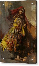 008 Pakhtun B Acrylic Print by Mahnoor Shah