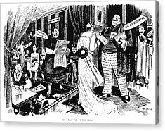 Press Cartoon, 1912 Acrylic Print by Granger