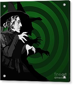 009. Destroy My Beautiful Wickedness Acrylic Print by Tam Hazlewood