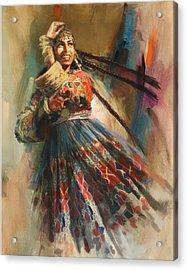 010 Pakhtun B Acrylic Print by Mahnoor Shah