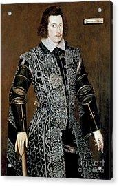 Sir Robert Devereux Acrylic Print by Granger