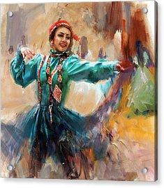 011 Pakhtun B Acrylic Print by Mahnoor Shah
