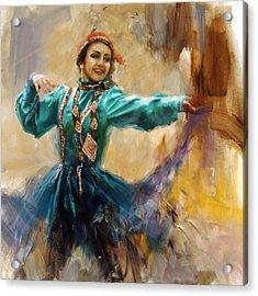011 Pakhtun Acrylic Print by Mahnoor Shah