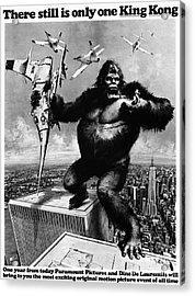 King Kong, 1976 Acrylic Print by Granger