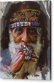 026 Sindh Acrylic Print by Mahnoor Shah