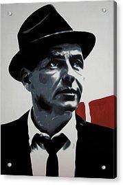 - Sinatra - Acrylic Print by Luis Ludzska