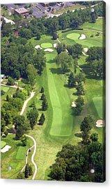 16th Hole Sunnybrook Golf Club Acrylic Print by Duncan Pearson