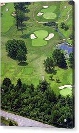 17th Hole Sunnybrook Golf Club Acrylic Print by Duncan Pearson