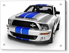 2008 Shelby Ford Gt500kr Acrylic Print by Oleksiy Maksymenko