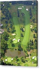 3rd Hole Sunnybrook Golf Club 398 Stenton Avenue Plymouth Meeting Pa 19462 1243 Acrylic Print by Duncan Pearson